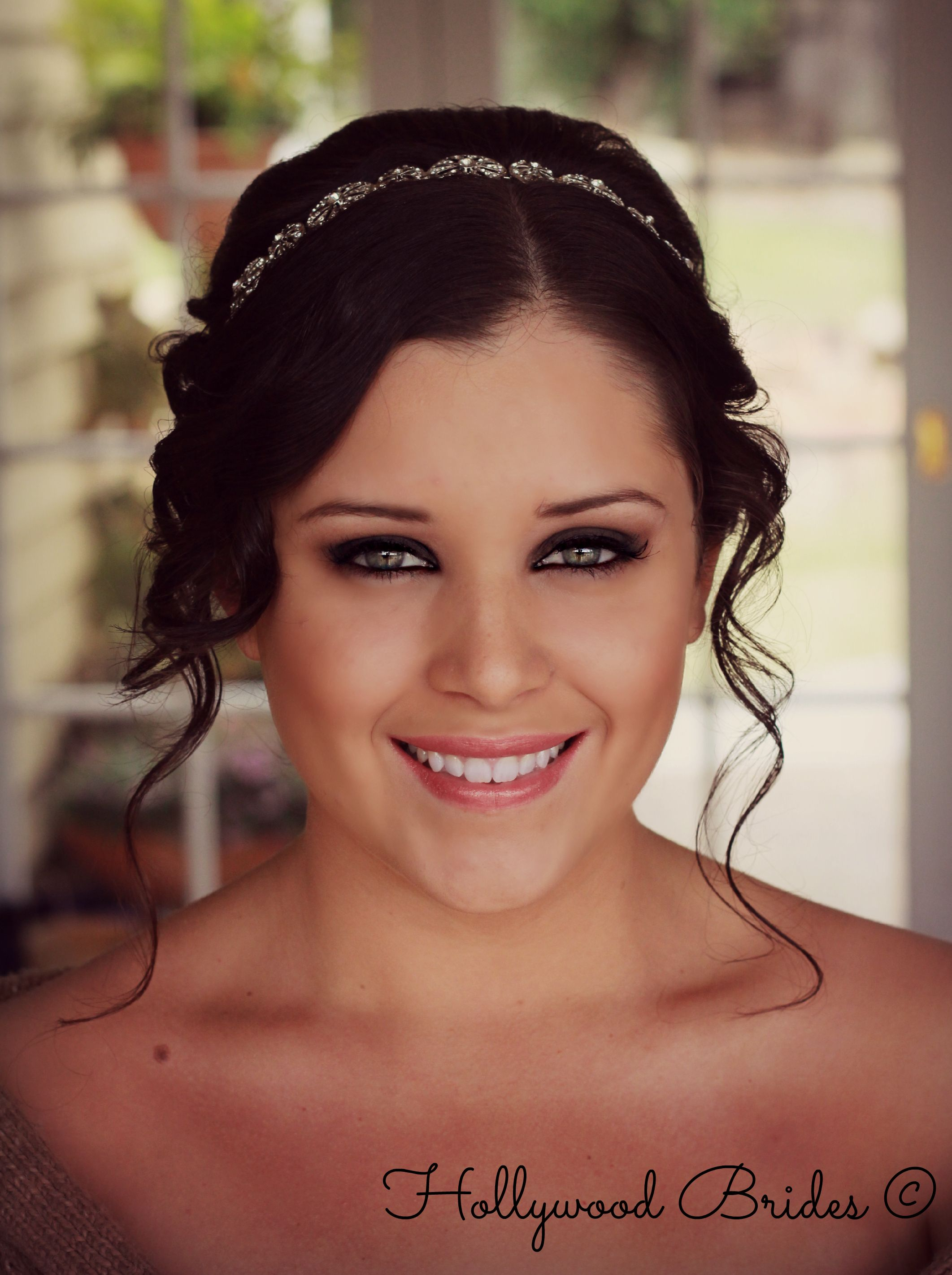 smokey eyes www.hollywoodbrides.au | wedding hair & makeup