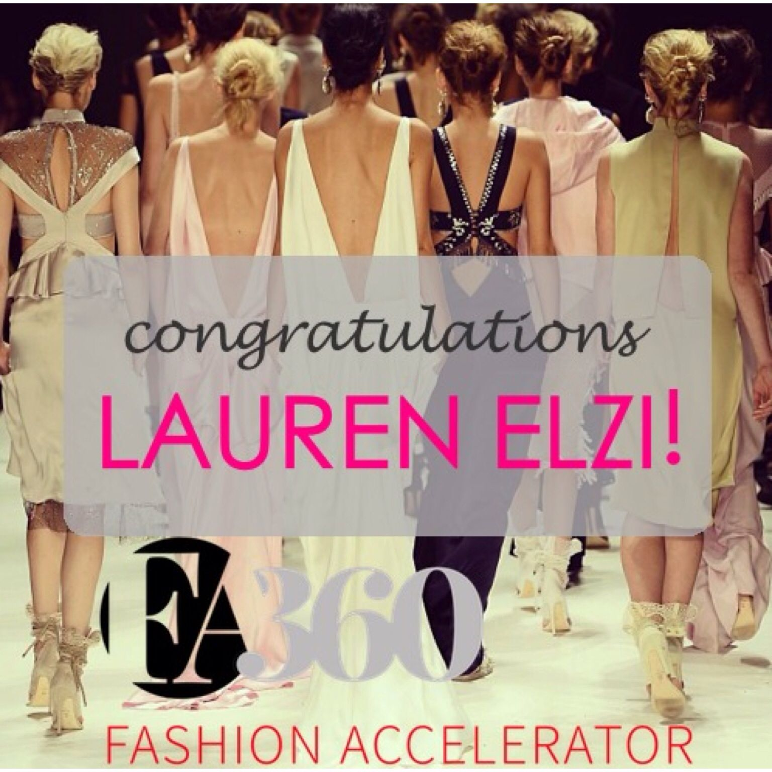 The winner of a Free @fashion Business Accelerator 360 Course is.... LAUREN ELZI!!! <3 <3 Please Facebook Message us for details. Thank you to everyone who participated! XoX