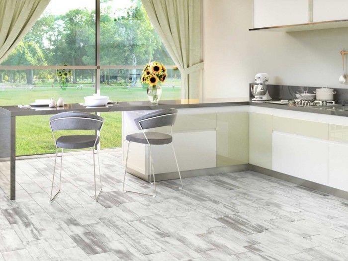 Pin By Ctm On Stylish Kitchens Wood Look Tile Wood Tile Floors Wood Floors