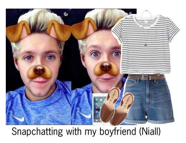 """""""Snapchatting with my boyfriend (Niall)"""" by reasongirl ❤ liked on Polyvore featuring Marc by Marc Jacobs, Monki, Toast, Yves Saint Laurent and Ileana Makri"""