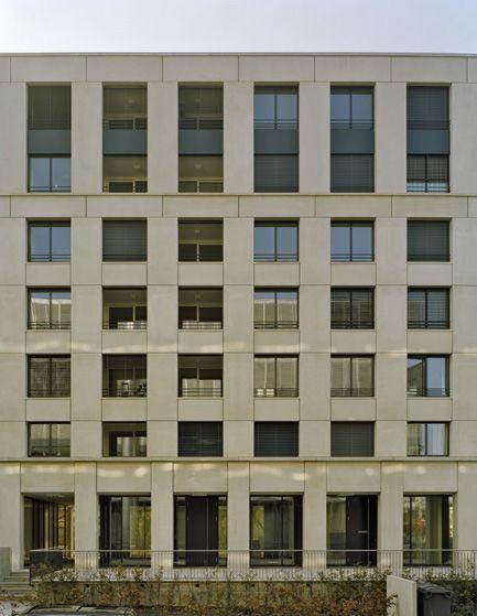 baumschlager eberle Residential Building Ententeich Facade