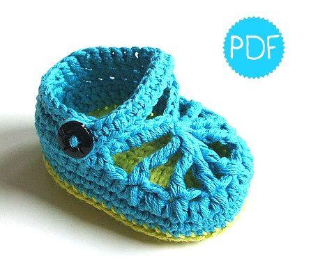 Instant Download Crochet Pattern BlueGreen di AppleBeePatterns