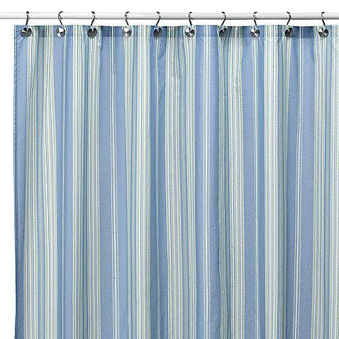 Baja Stripe Cape Cod 72 Inch X 72 Inch Fabric Shower Curtain From