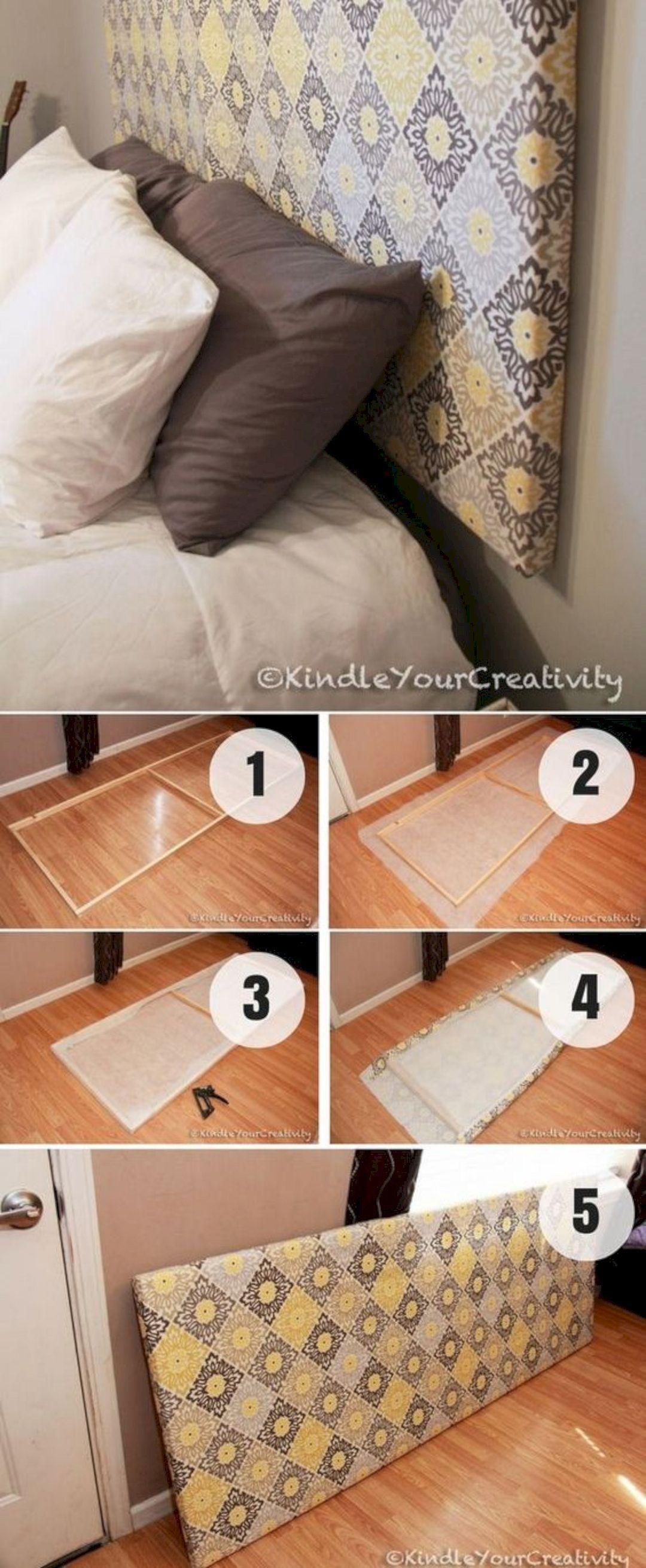 15 Easy DIY Headboard Project Ideas (mit Bildern) Dekor