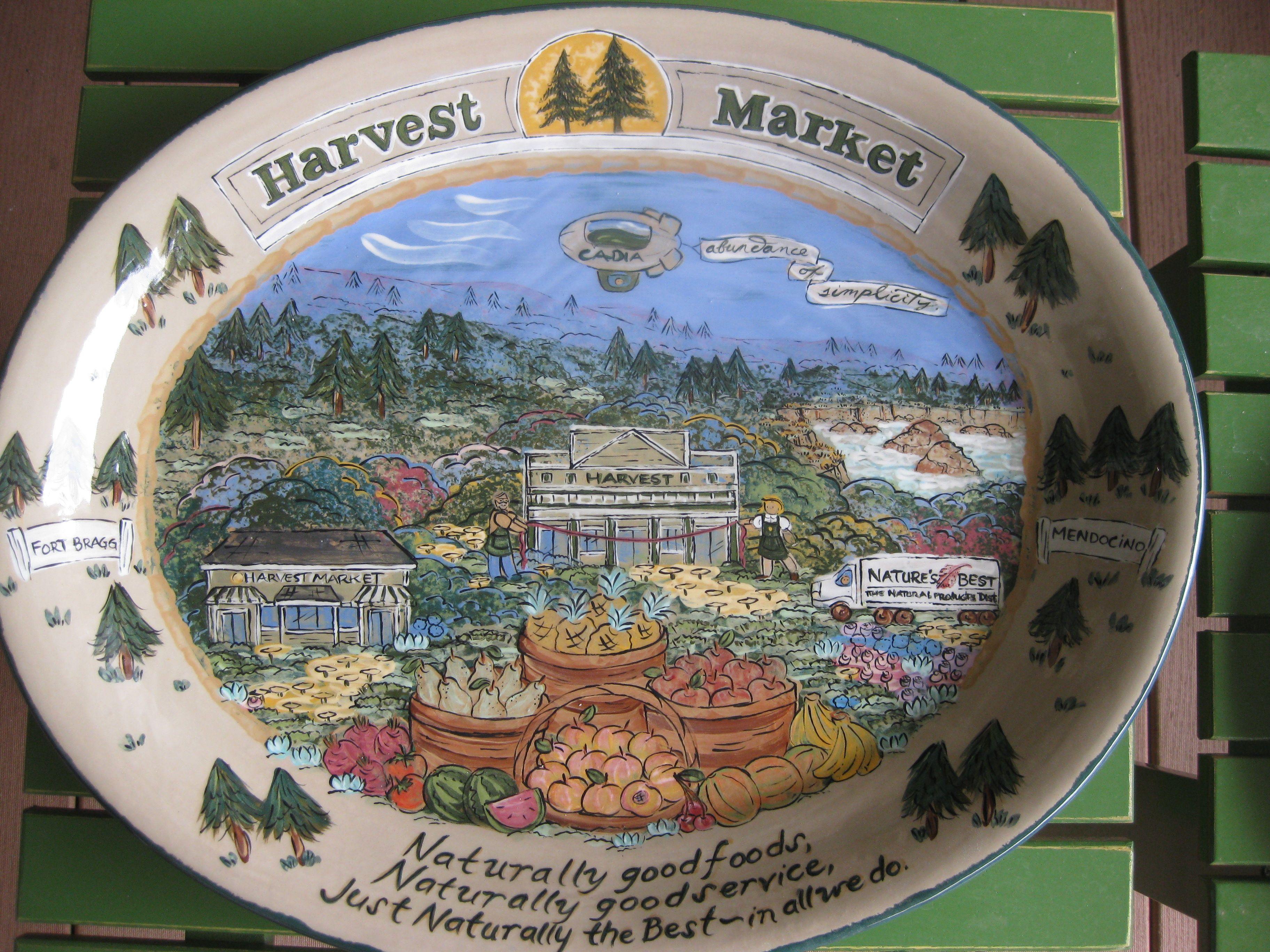 18 In Custom Lesal Ceramic Platter Lesal Custom Ceramics