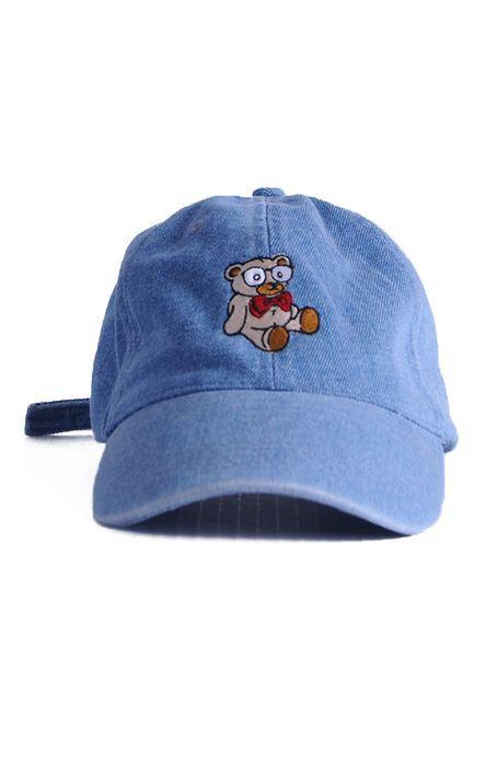 bb7e8519a2446 Nerdy Fresh TEDDY P BASEBALL CAP DENIM
