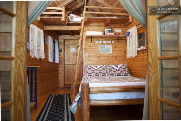 Treehouse Cabin Rental In Cave Junction, Oregon. This Setup Would Be Good  For Kids