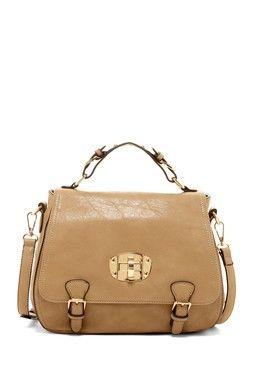 Victoria Buckle Handbag