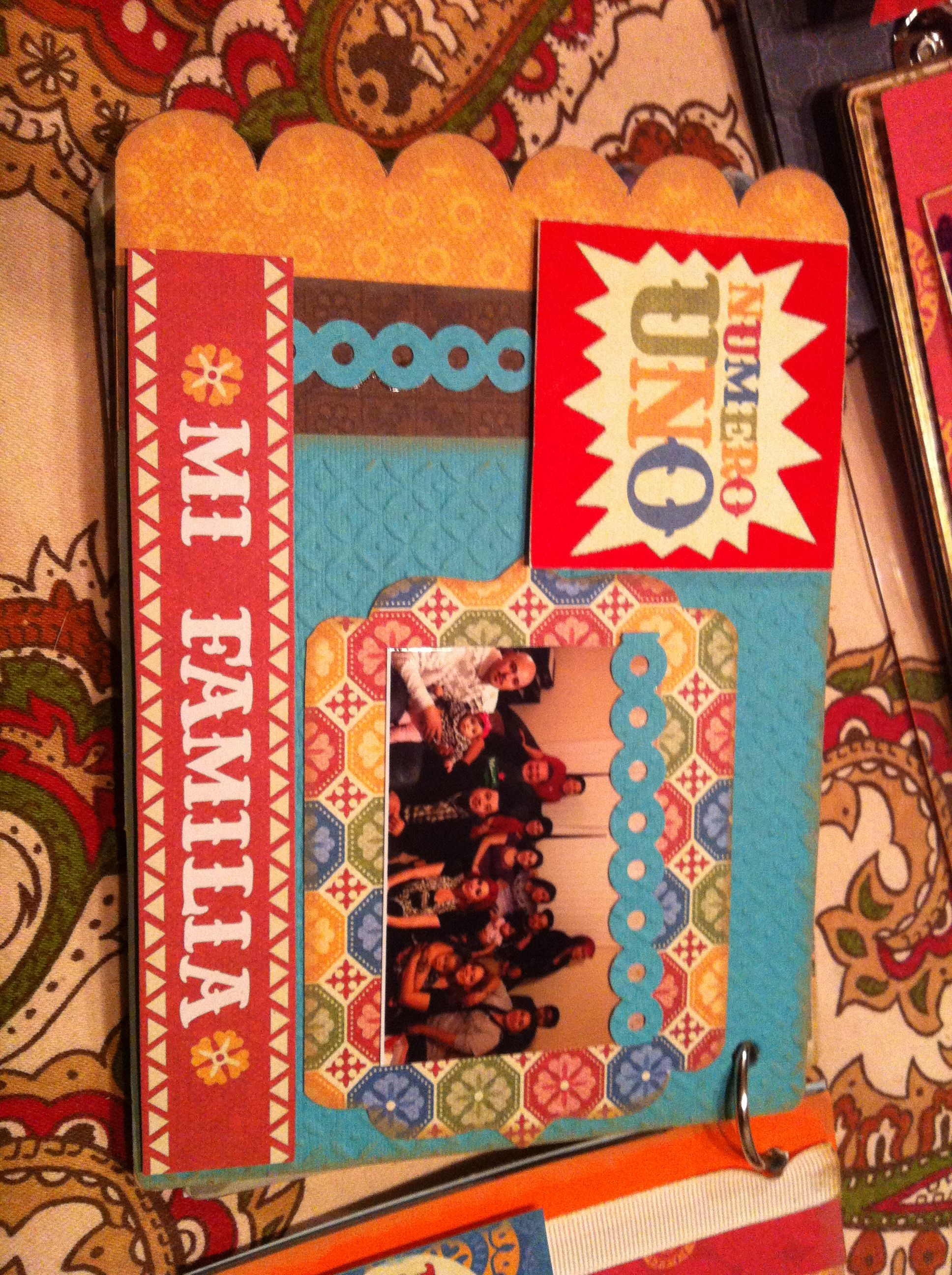 Family scrapbook ideas on pinterest - Family Scrapbook Page
