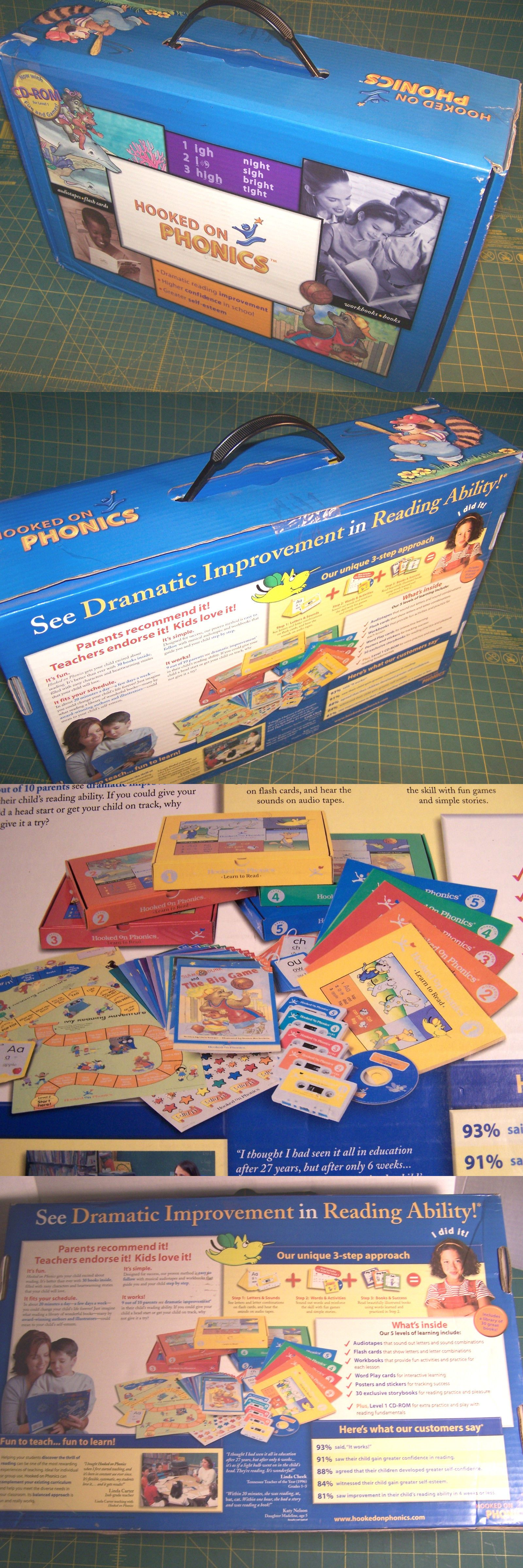 Hooked On Phonics Level 1 Homeschool Learning How To Read
