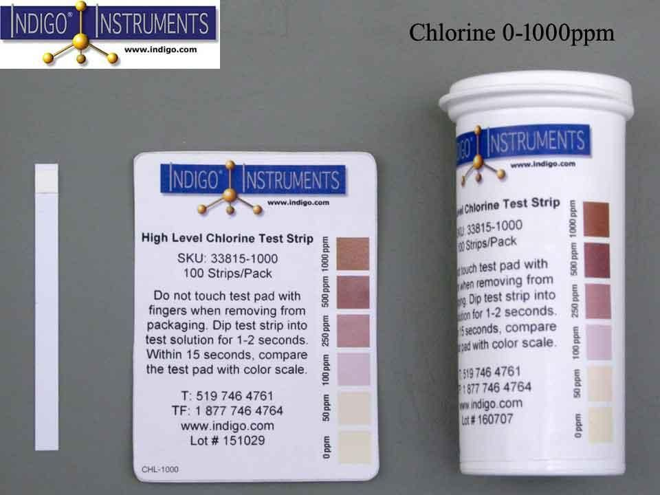 Food Safety Free Chlorine 1000ppm | Test Strips | Food safety, The