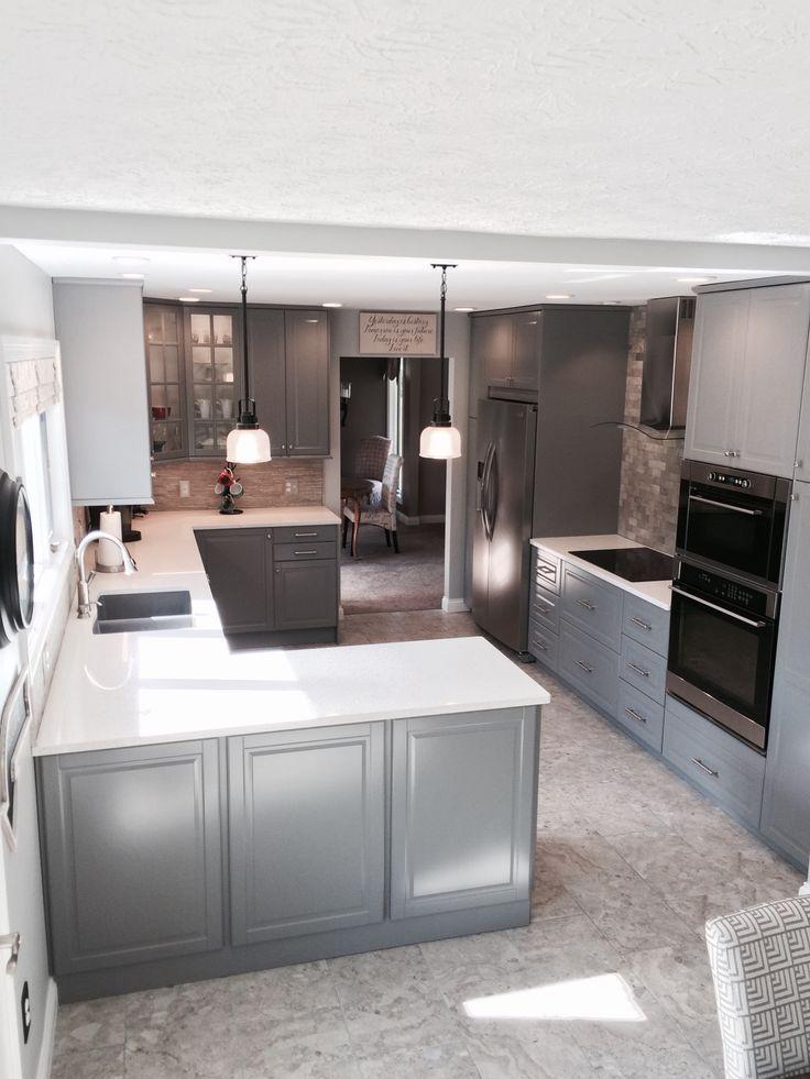 Ikea Bodbyn Grey Kitchen Cabinets Ikea Bodbyn Gray Kitchen