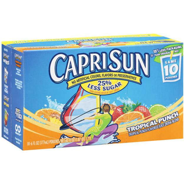 Capri Sun Reviews Q A Influenster Capri Sun Juice Juice Drinks Capri Sun