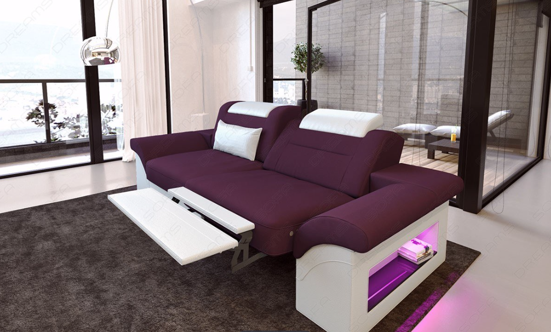 The Chicago Two Seater Sofa Is The Ideal For Snuggling Up To Your Loved One What Do You Think Of The Color Combination Sofa Sofa Fabric Sofa Seater Sofa
