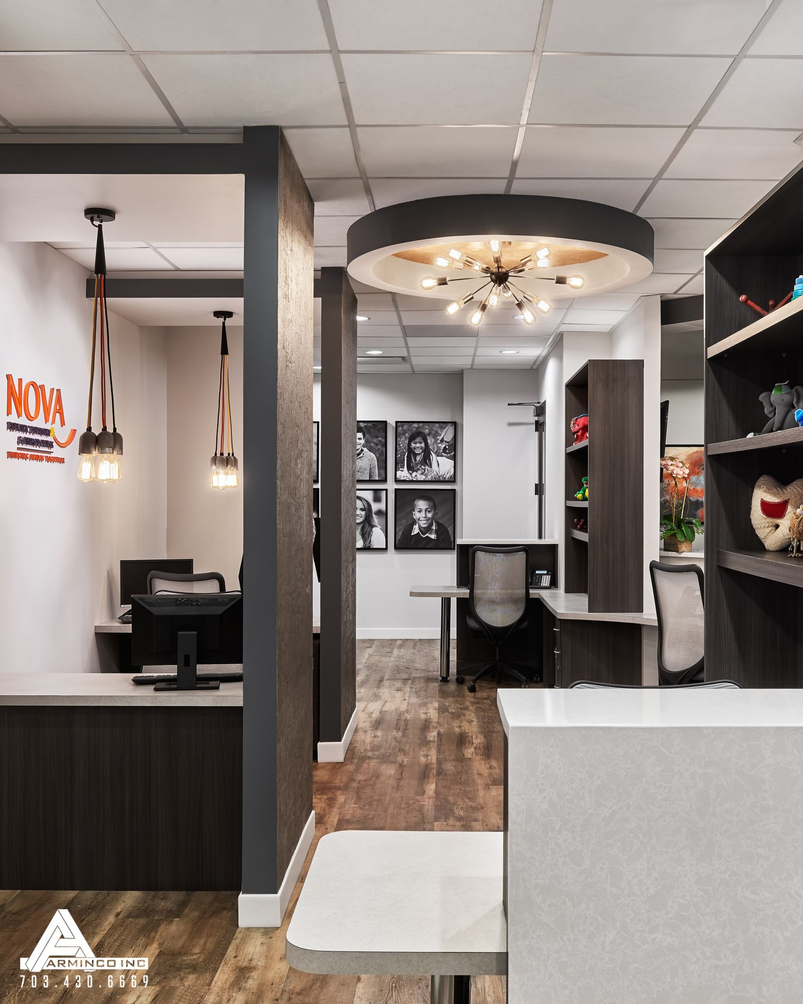 dental office colors. jason i like color contrast industrial office space dental design by arminco inc colors s
