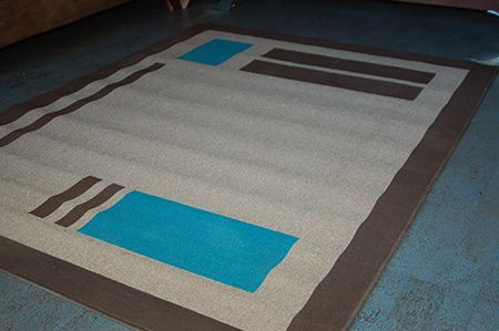 I Found Cheapie Rugs At My Local Builders Warehouse. The Rug Is 1.33 X 1.83