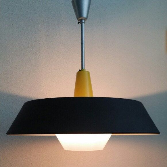 Philips holland design by louis kalff 50s ceiling pendant light etsy shop retroroom66