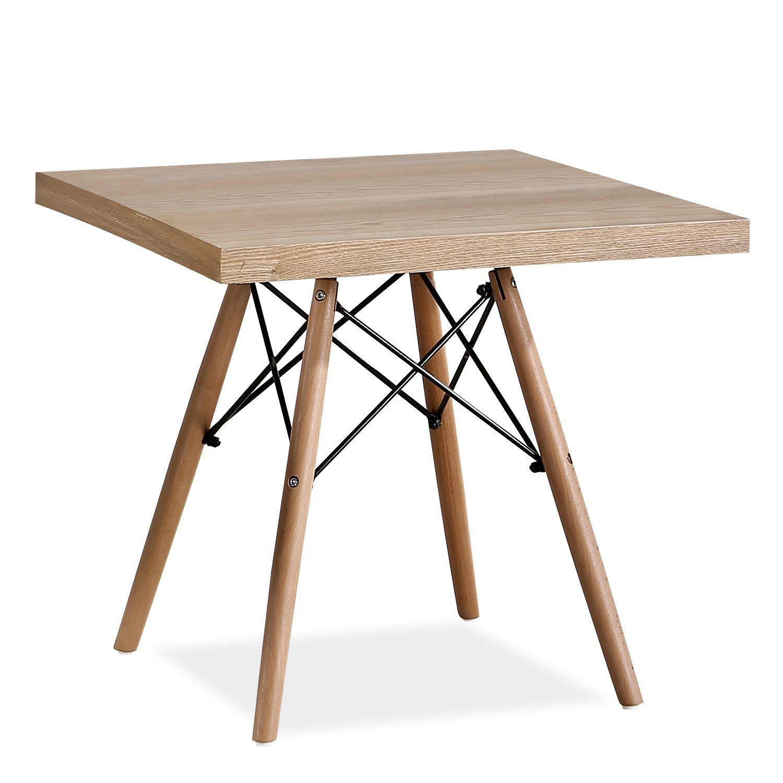 Mesa Wooden Square Mesas De Centro Eames Table Table Dining