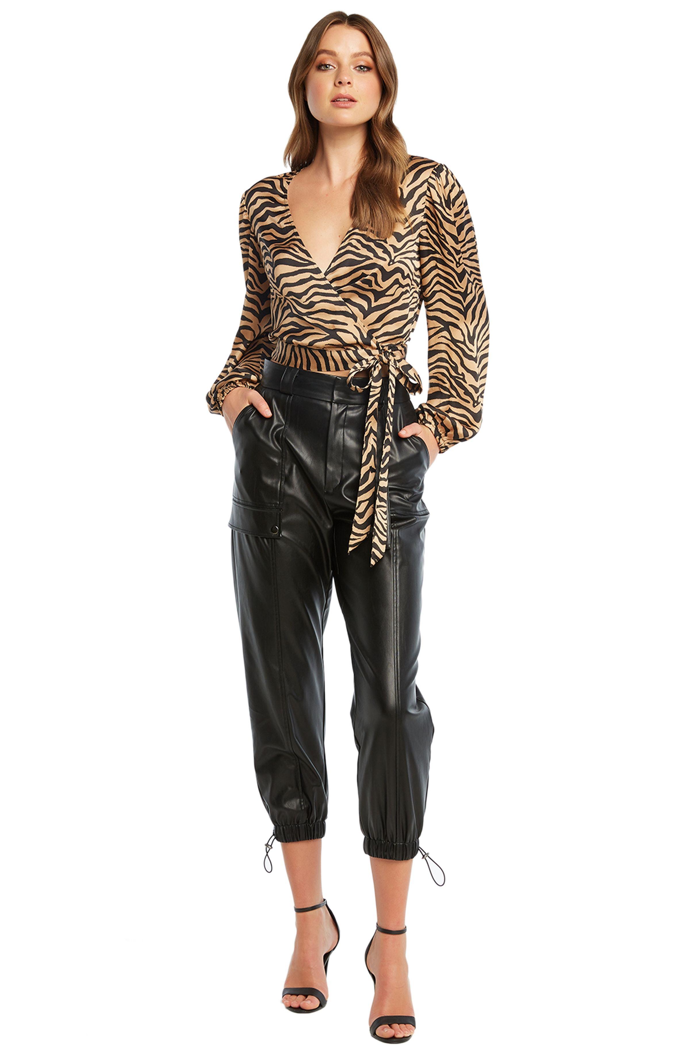 Women S Pu Riley Leather Cargo Pants Womens Black Dress Pants Casual Dress Pants Black Trousers Casual [ 3680 x 2400 Pixel ]