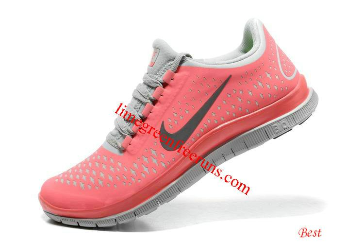 online store 21f54 cee38 Womens Hot Punch Shoes Pink Nike Free 3.0 V4 White Womens
