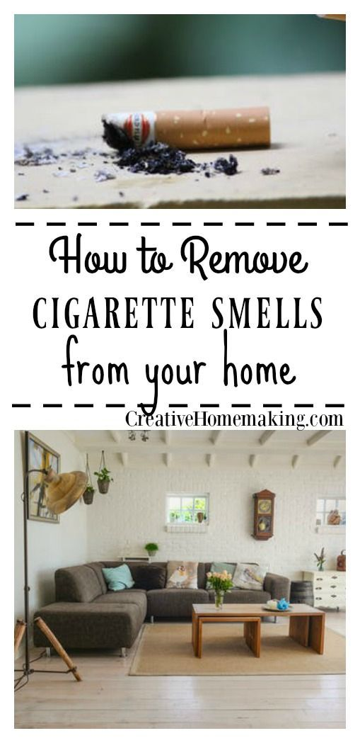 How To Get Rid Of Cigarette Smells In A House Pinterest Smoke Cleaning Solutions And Frugal