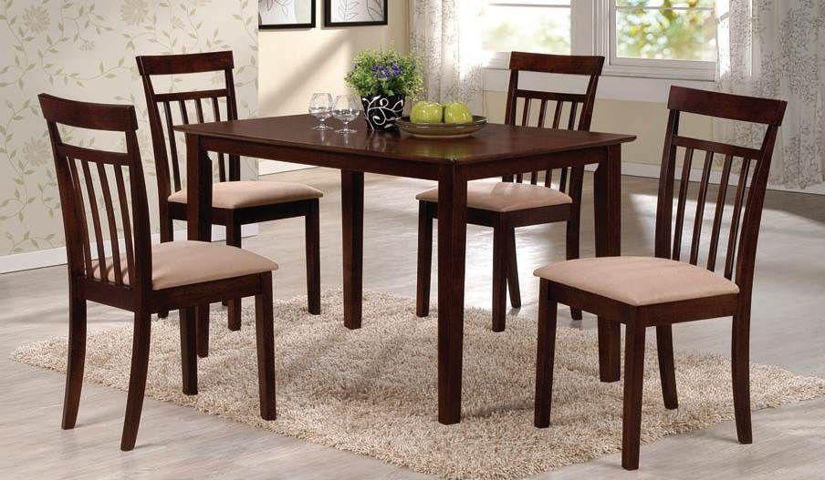 Acme Furniture Cardiff 5-Piece Dining Set Espresso