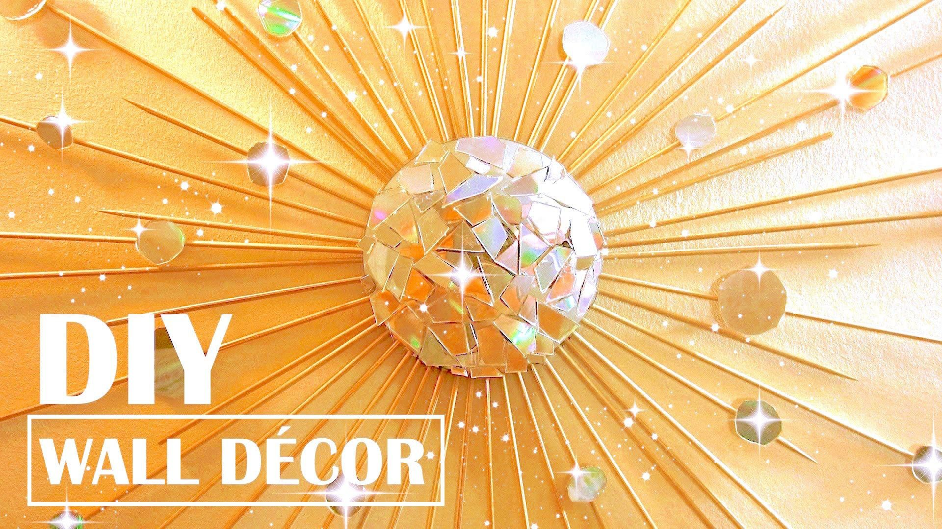 Turn Old CDs into Wall Decor | Vintage room, Diy wall decor and ...
