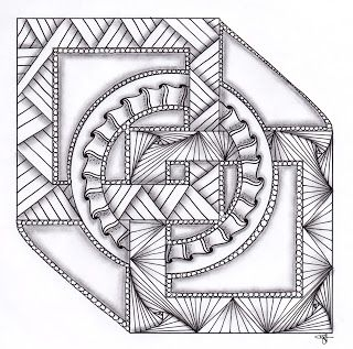 Musings: Mandala Designs and Celtic Knot Challenge #10 | Zentangle