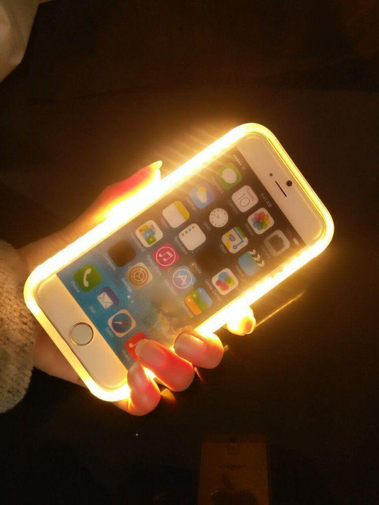 uk availability 6bcbe 39947 LIT Selfie lighting iPhone case protector   Bling and Bling Like ...