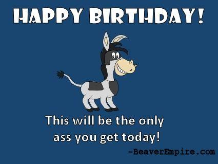 Gladiator Ass Happy Birthday Ecard 2