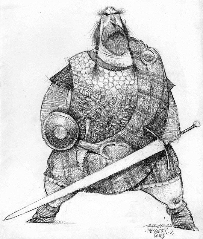 Brave: Character Design: Carter Goodrich