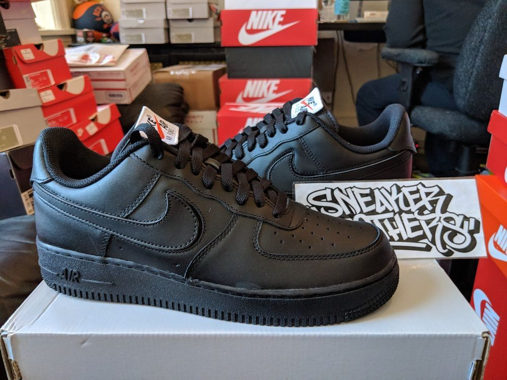 0c97a9796 Nike Air Force One 1 low All Star AS Replaceable Swoosh Pack Black AH8462- 002 #Nike #BasketballShoes