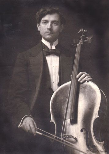 Maurice Marechal Cellist And Conservatoire Professor 1892 1964 Whilst Serving In The Army In Ww1 He Took Possession Of A Very S Cellist Cello Music Cello