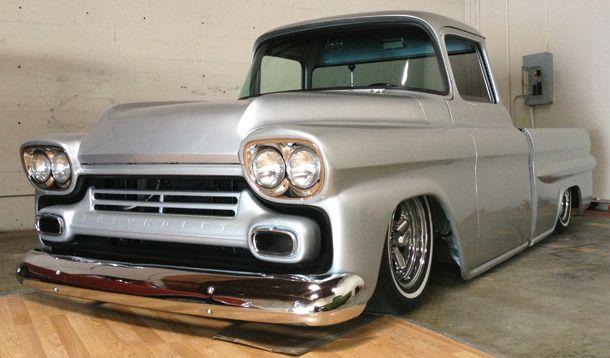 1958 Chevy Apache Fleetside Sweet Og Stilo Pinterest