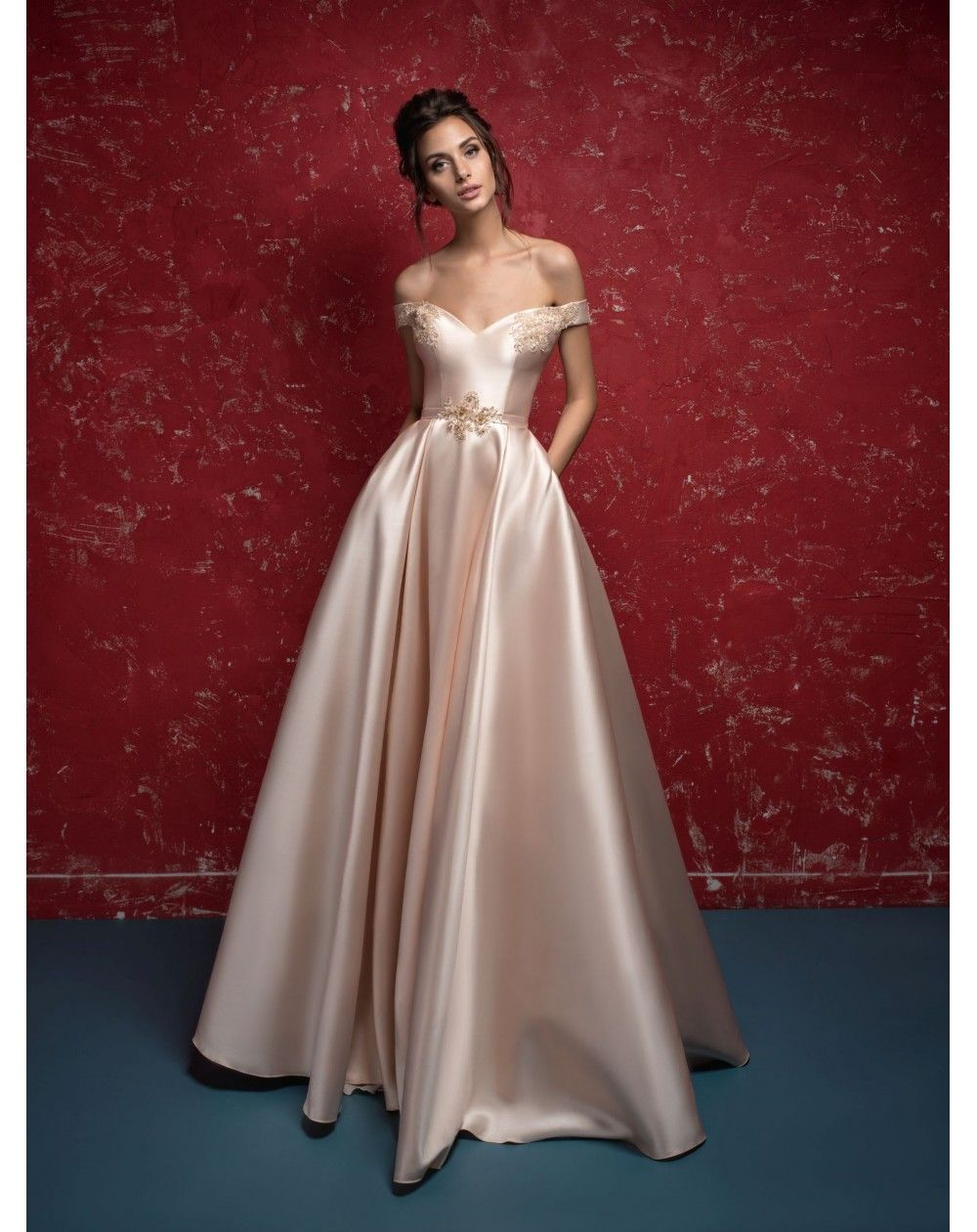 Luxusné spoločenské šaty ORIEL  4b02c30c333
