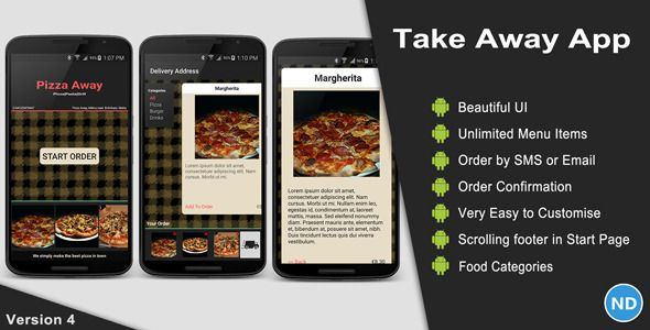 Take away app take has features such as software version android easy to modify template to allow your clients to order food delivery from your take away restaurant using their android tabletphone forumfinder Gallery