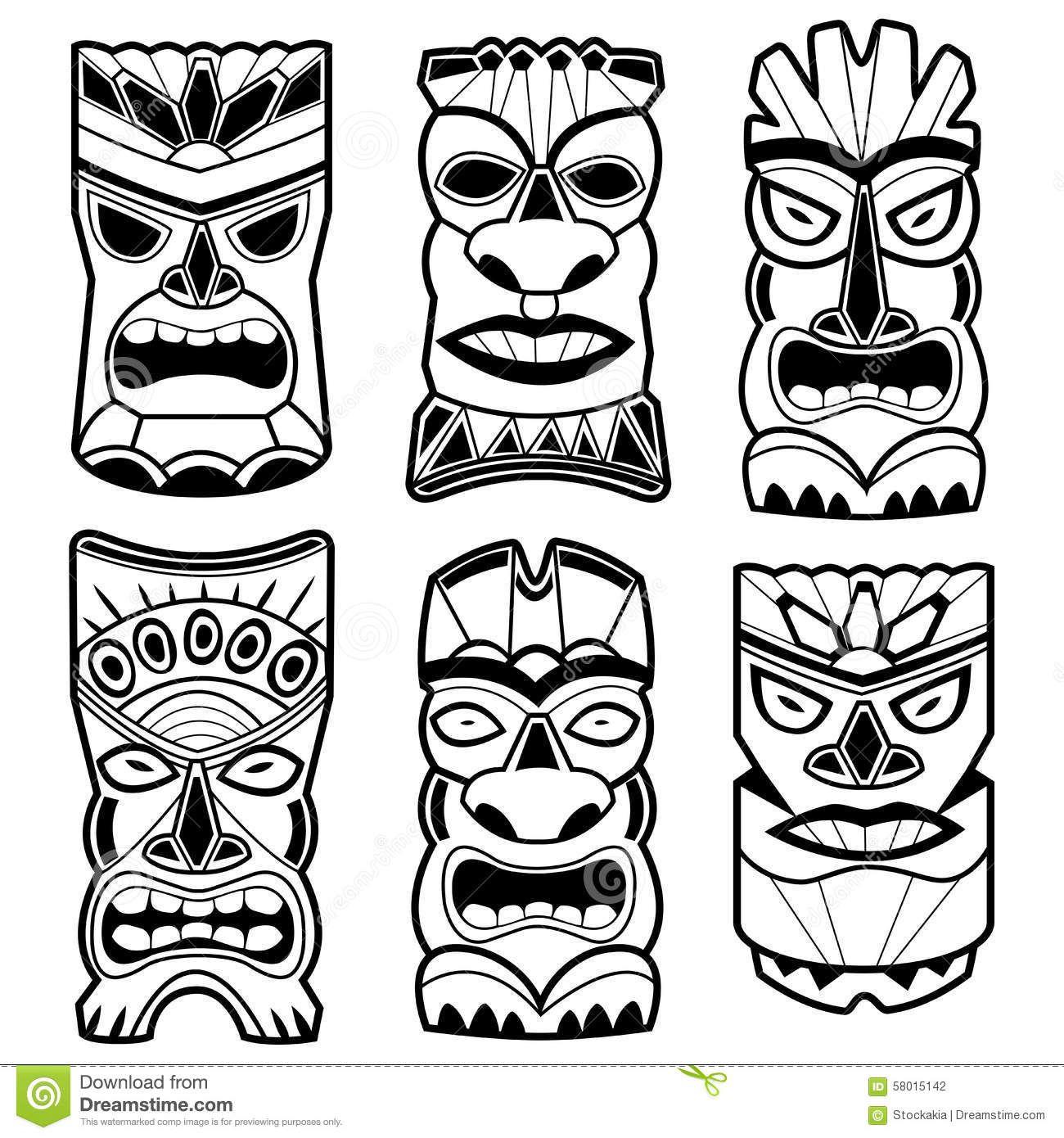 Polynesian God Vector