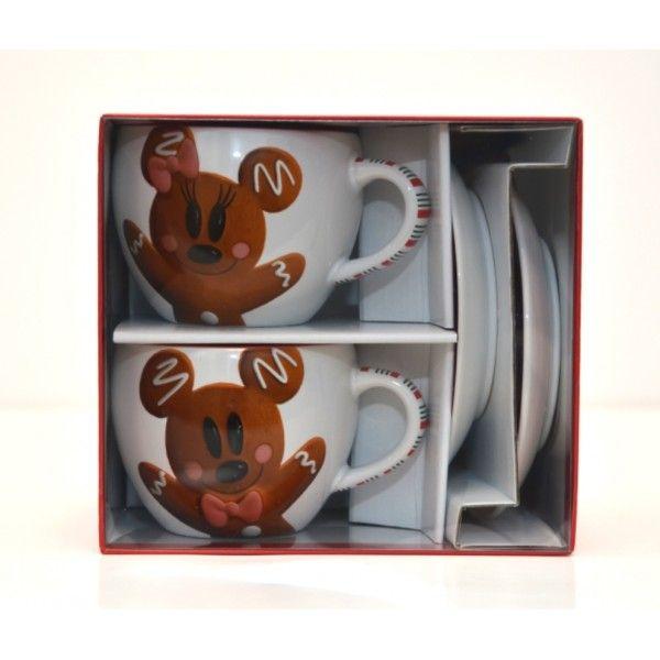 Set Set Mickey /& Minnie Gingerbread Men//Gingerbread Disneyland Paris