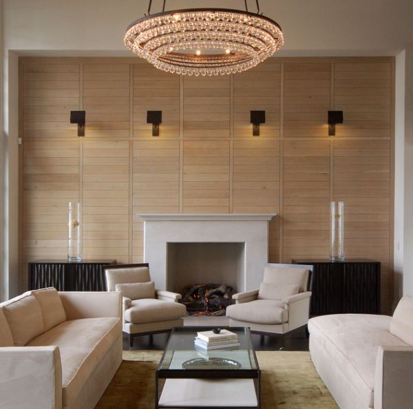 Wall Lighting Ideas Suited To Modern Living Rooms Chandelier In