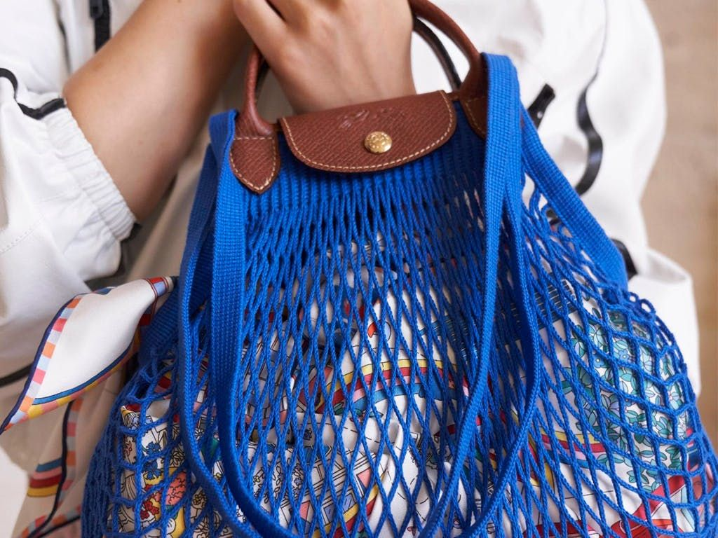 Longchamp Spring-Summer 2021 Filet Le Pliage | Longchamp, Paris ...