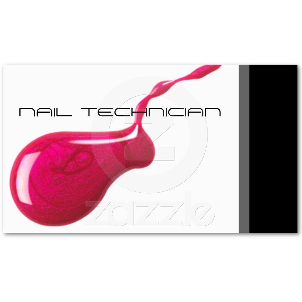 Nail technician business card nail technician font styles and nail technician business card magicingreecefo Choice Image