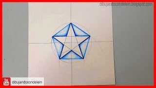 Tutorial Paso A Paso Como Dibujar Una Estrella De 5 Puntas Usando Un Pentágono Dibujos De Estrellas Estrellas Estrellas De Mar Dibujos
