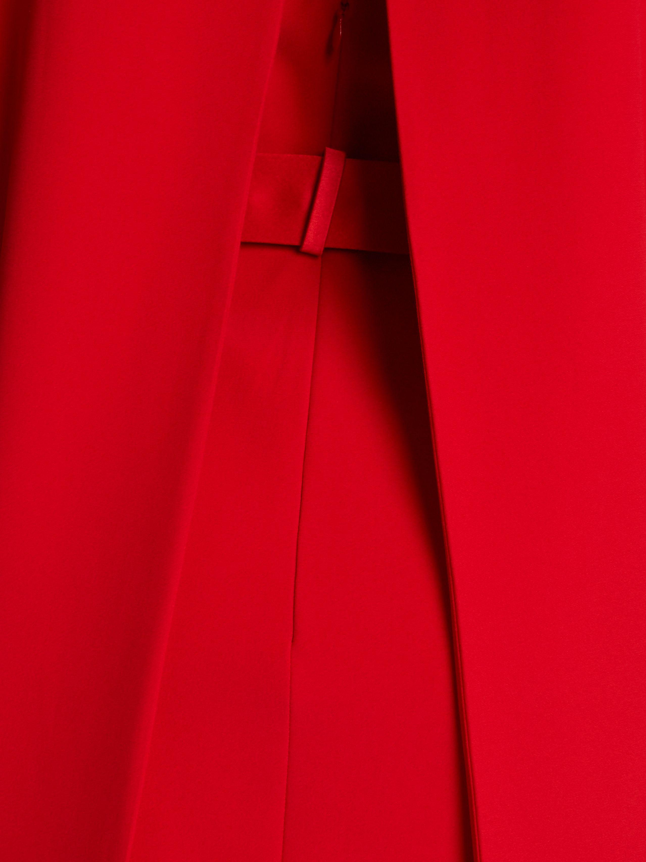 Crepe mini dress | Alexander McQueen | MATCHESFASHION.COM