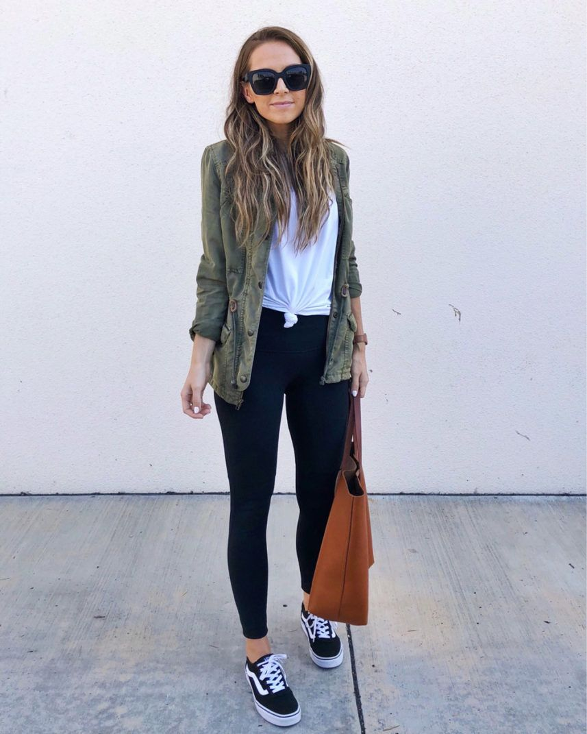Yoga Pants Outfit Ideas Without Looking Like You'r