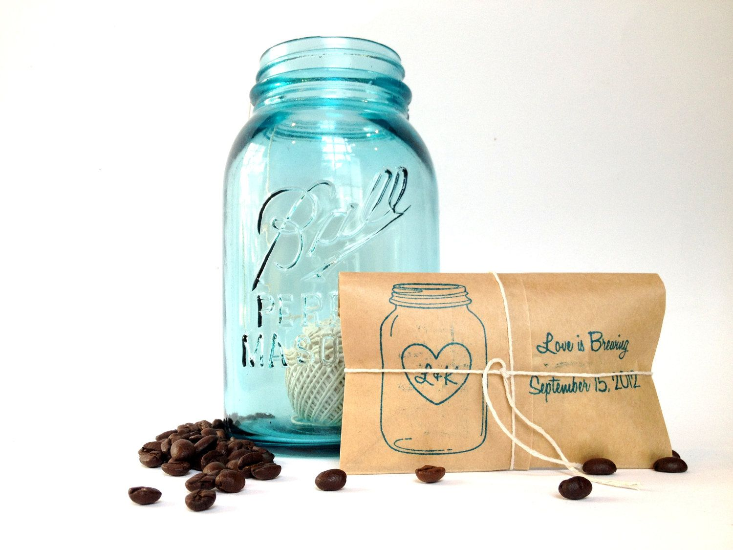 Coffee Wedding Favors Set of  freshly by AproposRoasters