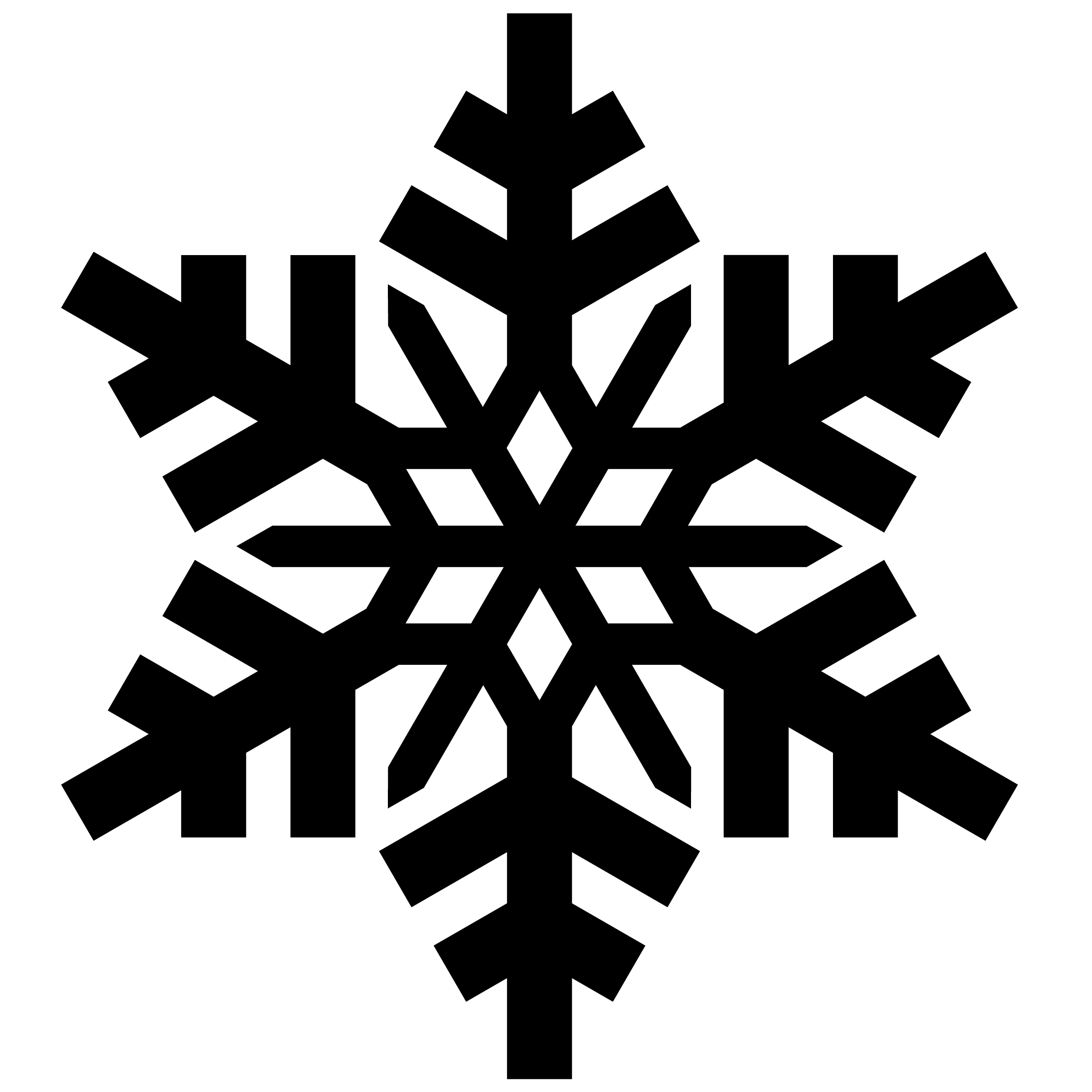 cold frosen symbol png 2500 2500 snowflake silhouettes vectors