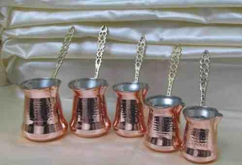 "Turkish Copper COFFEE Maker Pot Handmade cezve ""XL Size"""