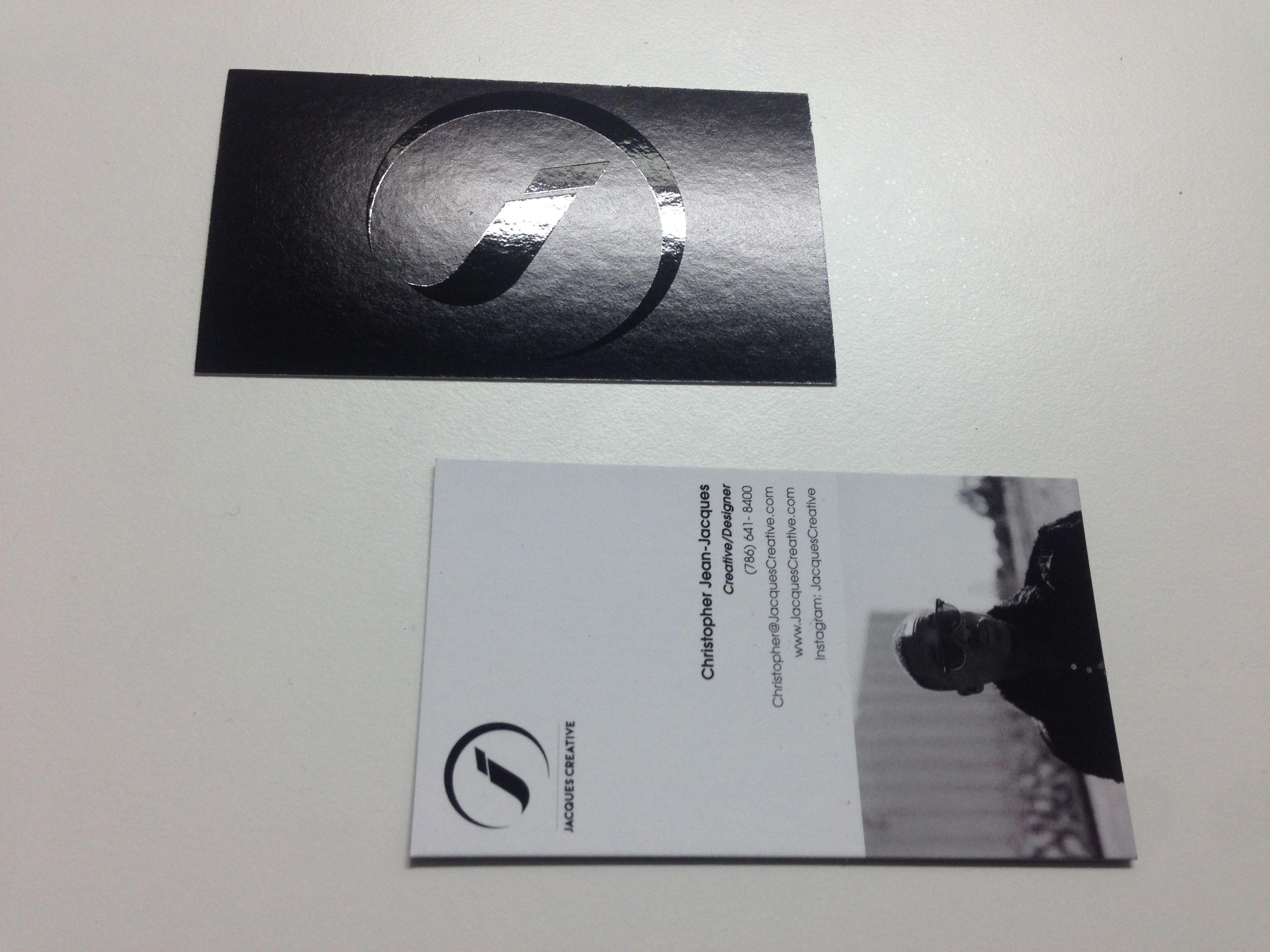 Spot UV Matte Finish Business Cards