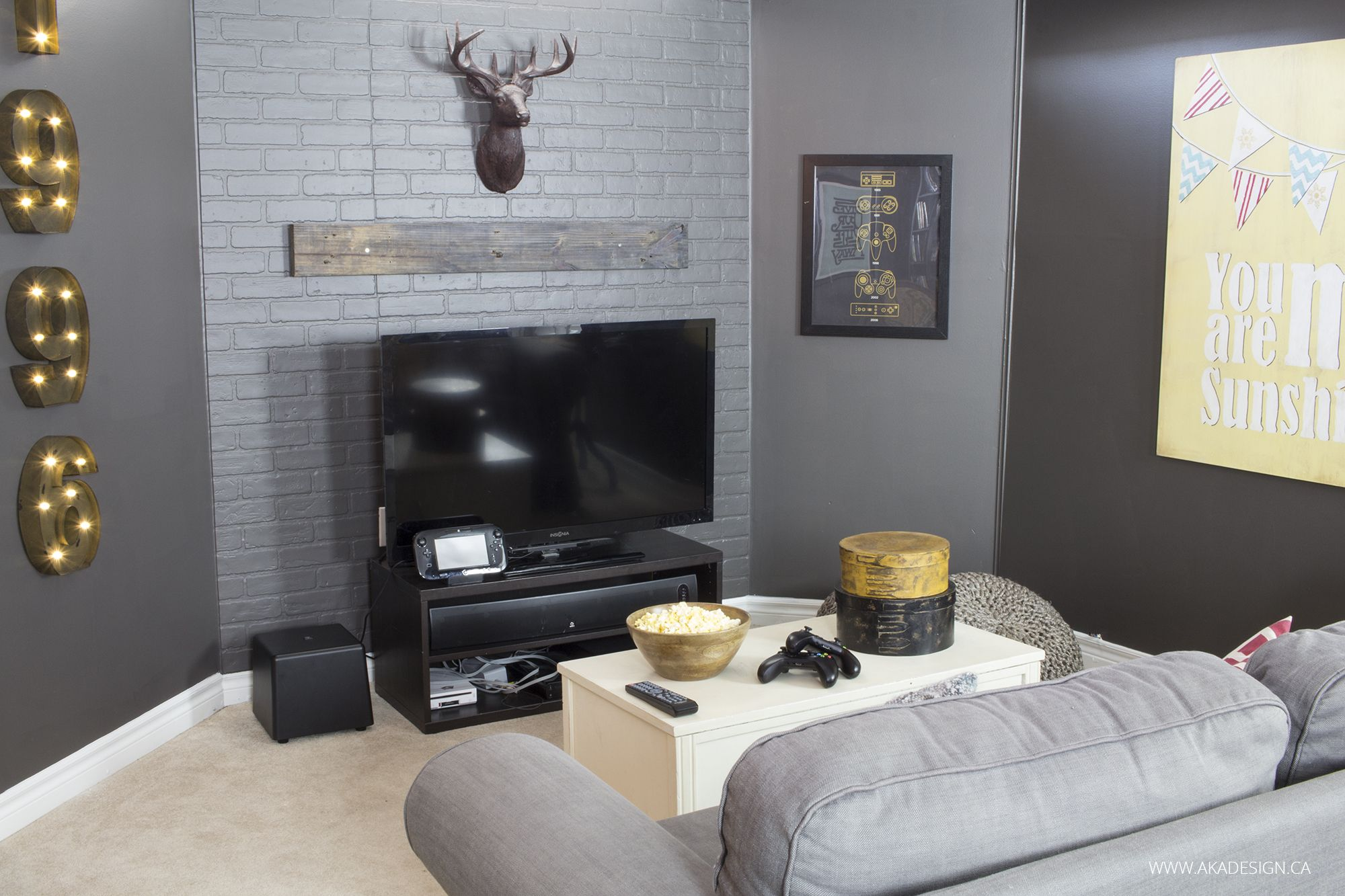rustic industrial basement makeover industrial basement on industrial farmhouse paint colors id=66378