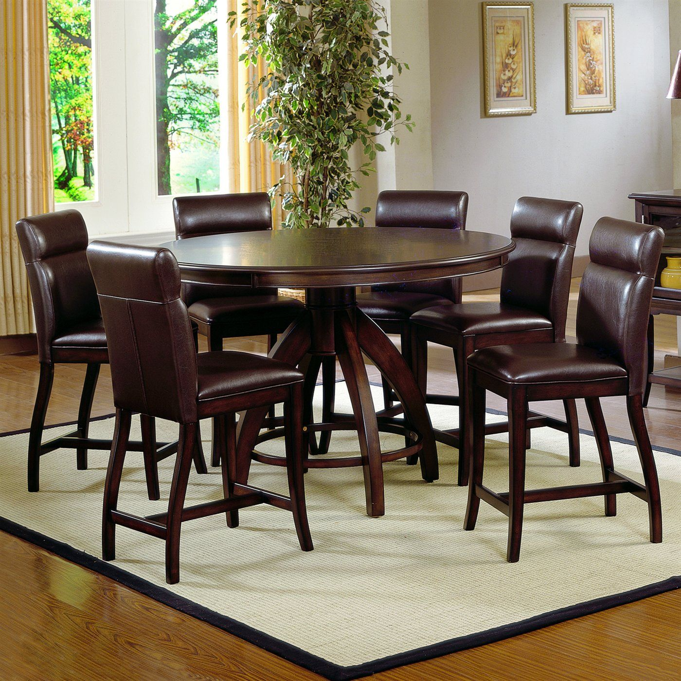 Counter Height Dining Table Round Tables Hillsdale Nottingham